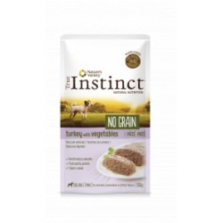 True Instinct No Grain Mini Paté Pavo con Verduras