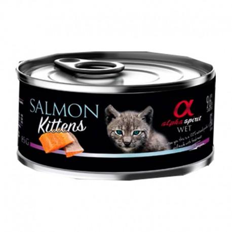 Alpha Spirit Wet Kitten Salmón