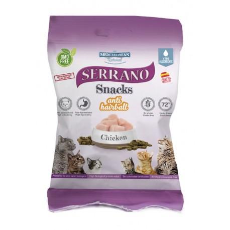 Serrano Snacks Gatos Pollo