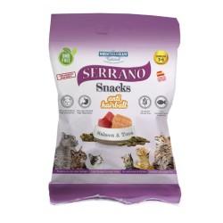 Serrano Snacks Gatos Salmón y Atún