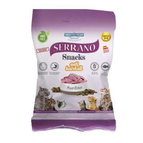 Serrano Snacks Gatos Sardina