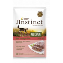 True Instinct No Grain Paté Buey con Verduras